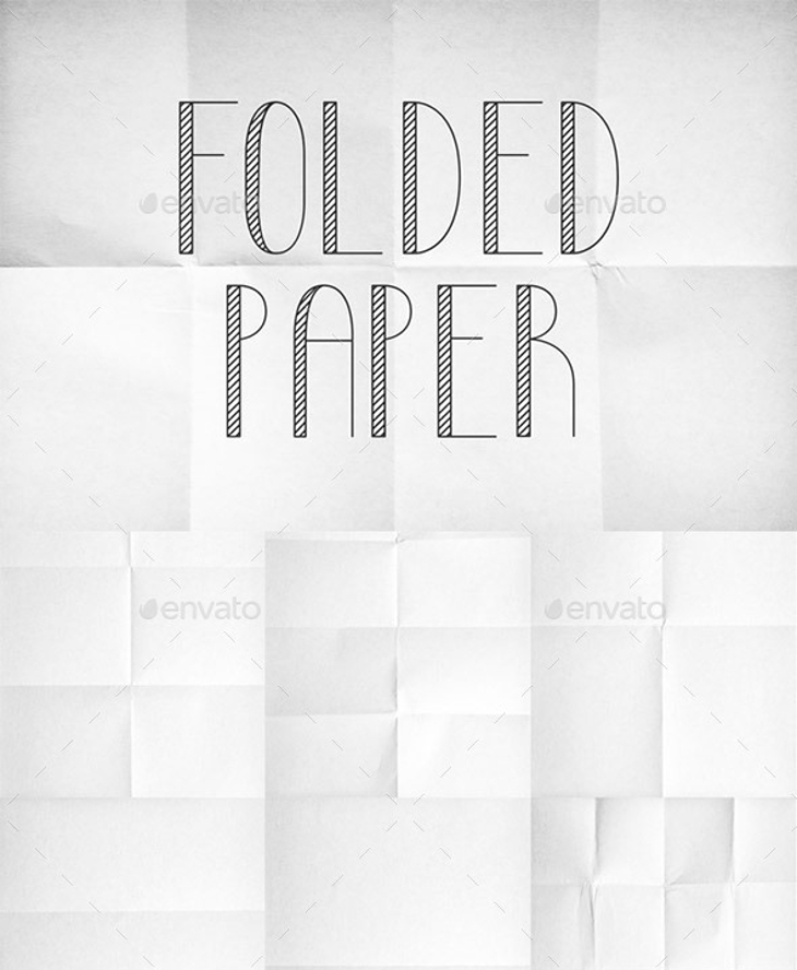 best collection of folded paper texture pack