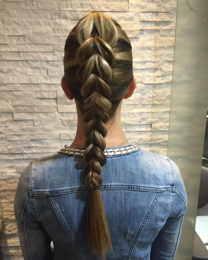 Inside Out Dutch Braid