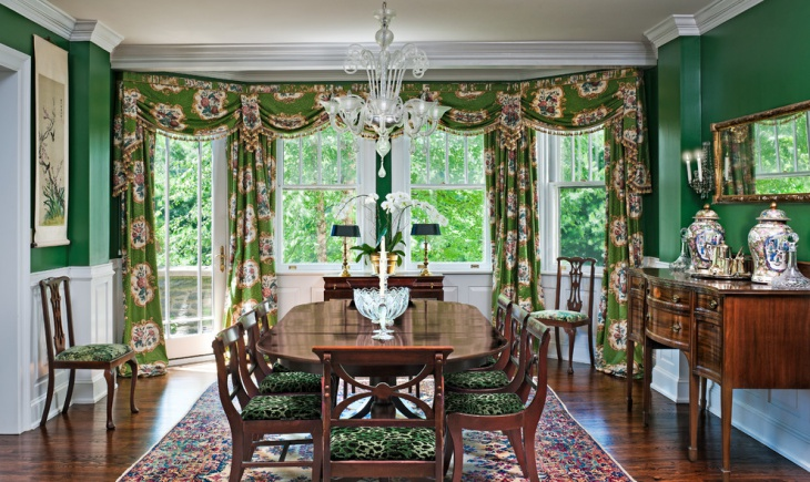 21 Green Dining Room Designs Decorating Ideas Design