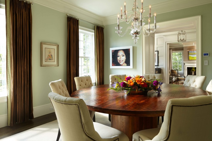 Mint Green Dining Room Idea