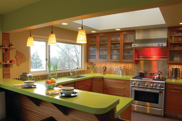Classic Green Kitchen Idea