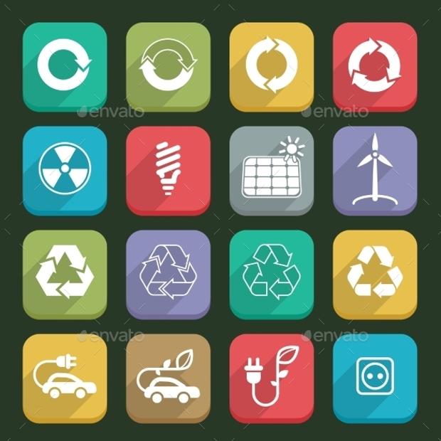 bio ecology icons