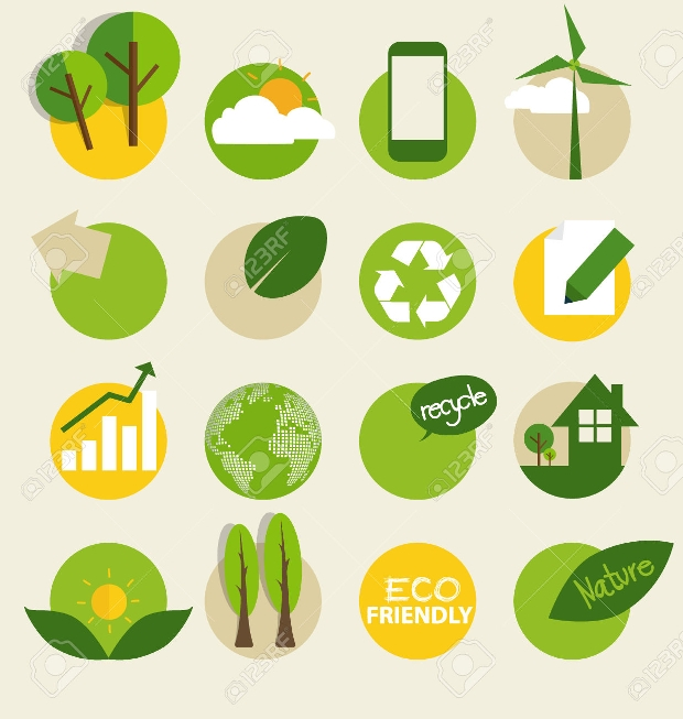 Environment Ecological Icons