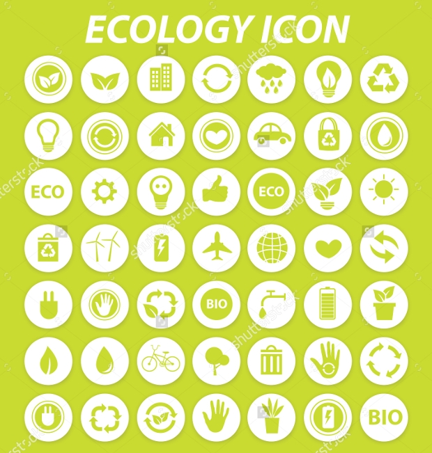 High Resolution Ecology Icons
