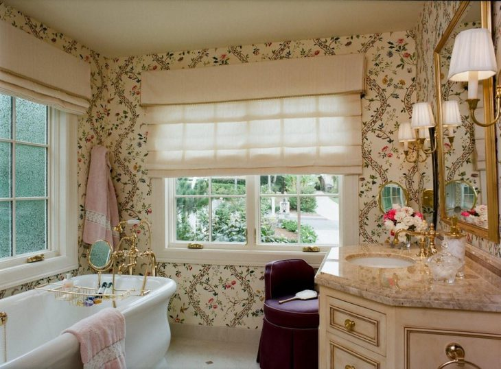 Beautiful Brentwood Feminine Bathroom