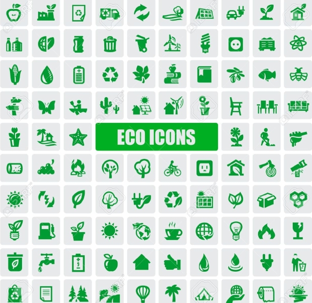 ecology icons free vector1