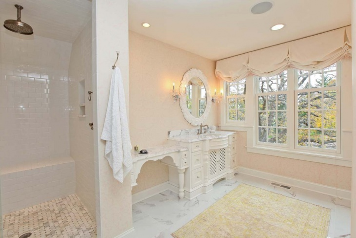 21 Feminine Bathroom Designs Decorating Ideas Design