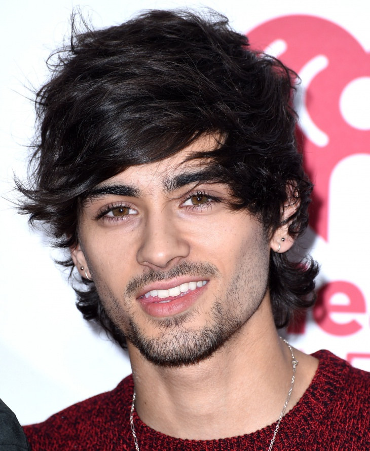 Zayn Malik Hairstyle for Thick Coarse Hair