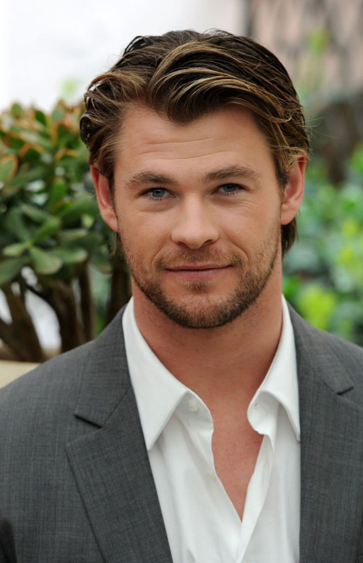 chris hemsworth haircut for thick hair