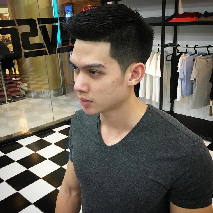 side shaved haircut idea
