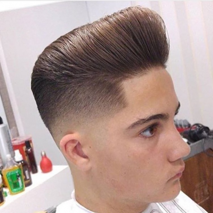 classy clenacut hairstyle