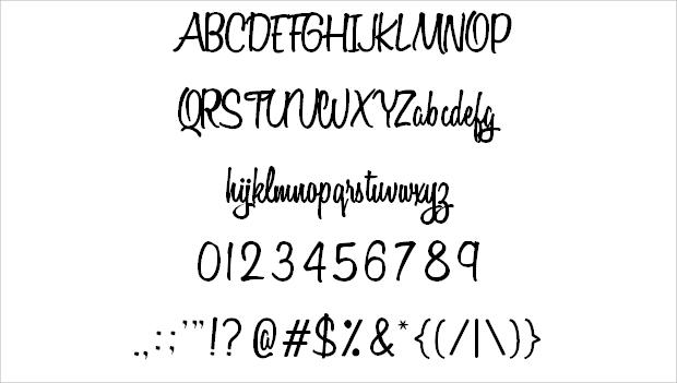 Elegant Fancy Font