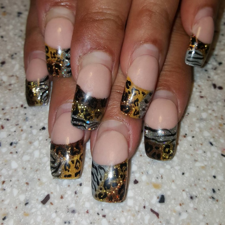 unique nail art for acrylic nails