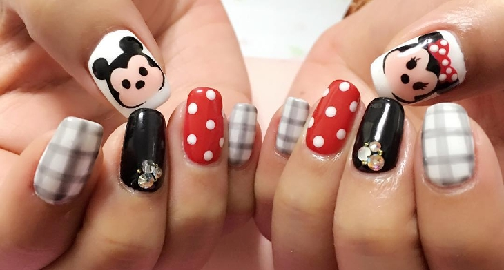 img - 21+ Mickey Mouse Nail Art Designs, Ideas Design Trends - Premium