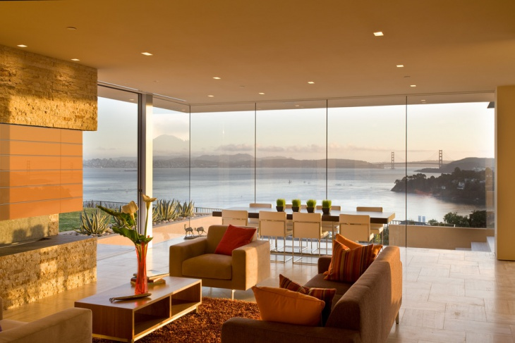 Amazing Living Room with River View