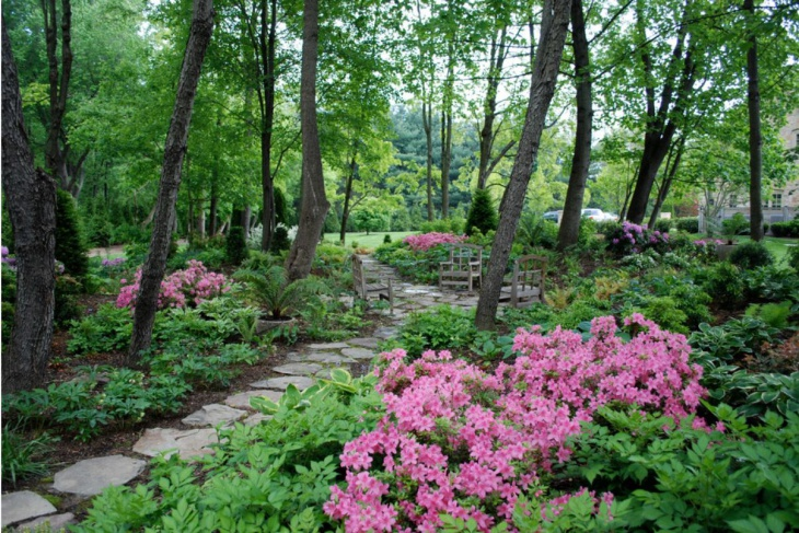 marvelous small spring garden