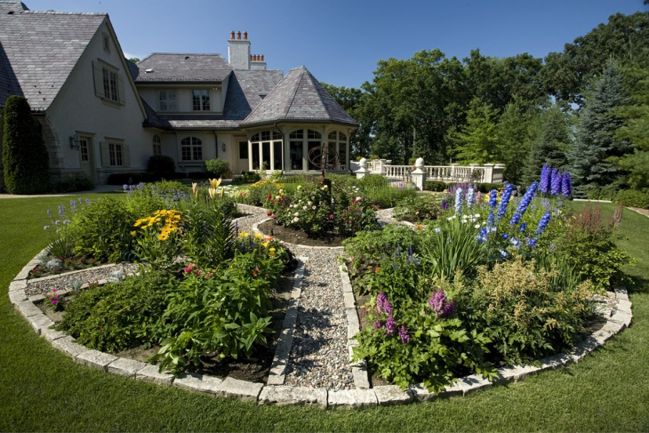 Round Desiged Spring Garden
