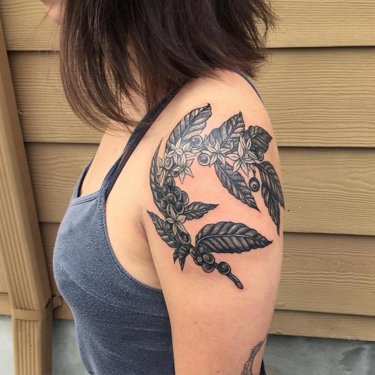 nature tattoo for women