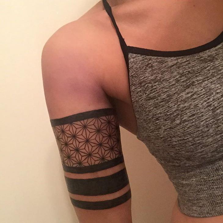 Simple Lace Tatto Idea