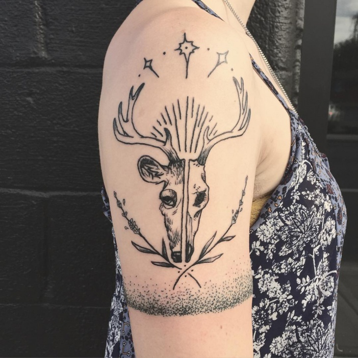 Animal Band Tattoo Idea