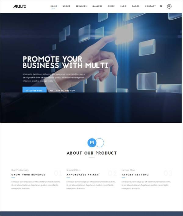 Multi Business WordPress Theme
