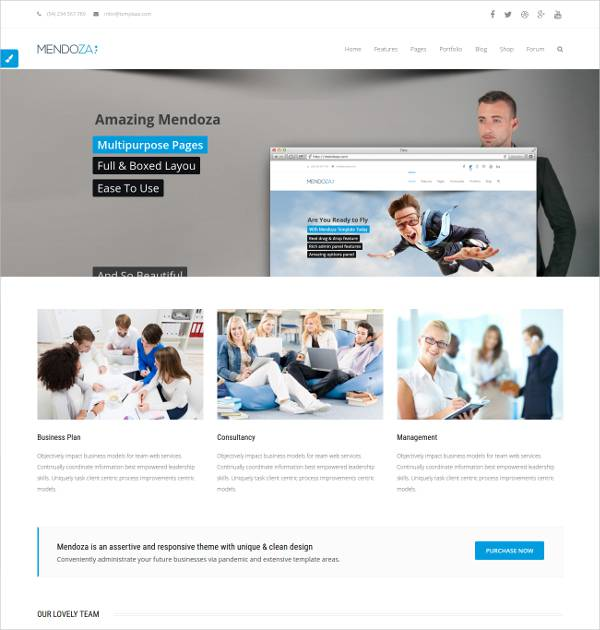 Business WordPress Theme for Companies