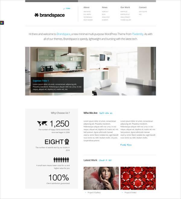 BrandSpace Business WordPress Theme
