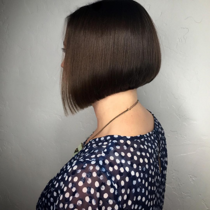 Short Hairstyle for Fine Straight Hair