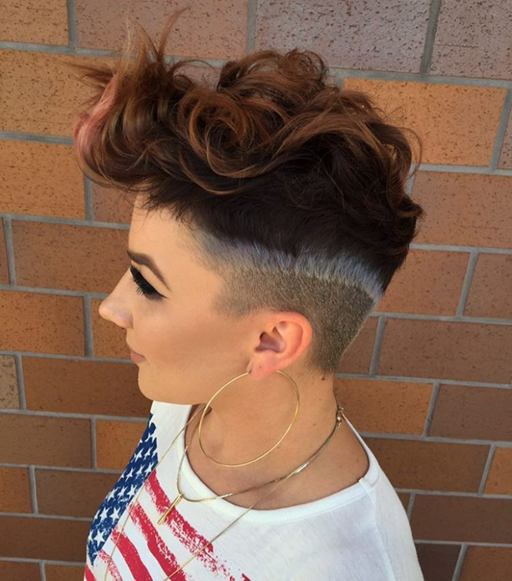 Modern Haircut Idea for Women