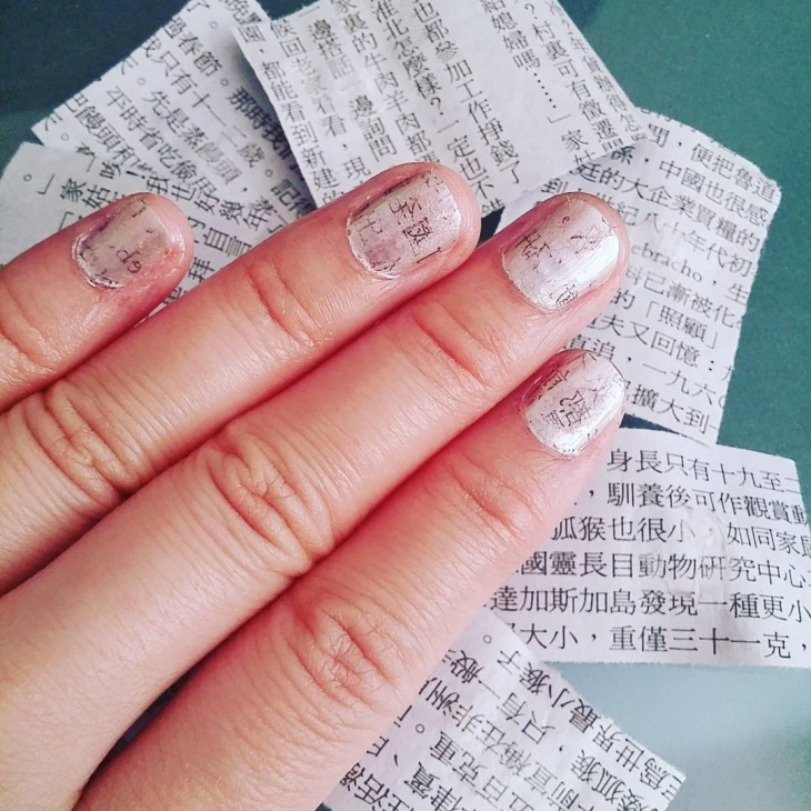 chinese news nail art