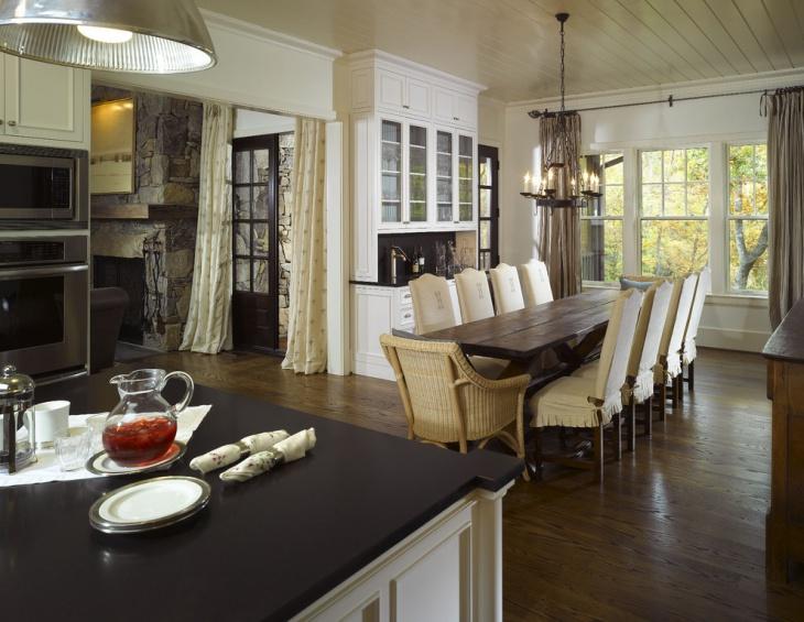 vintage style dining room design