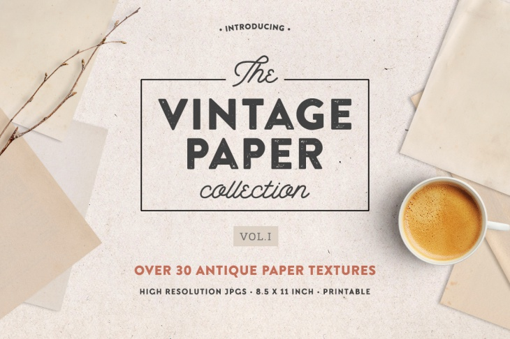 vintage paper collection