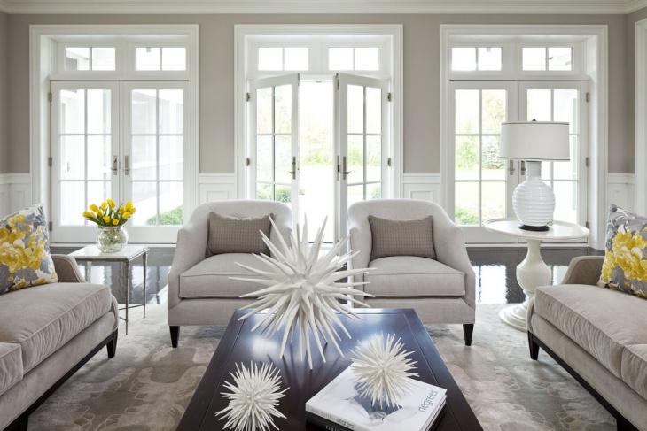 living room zen interior