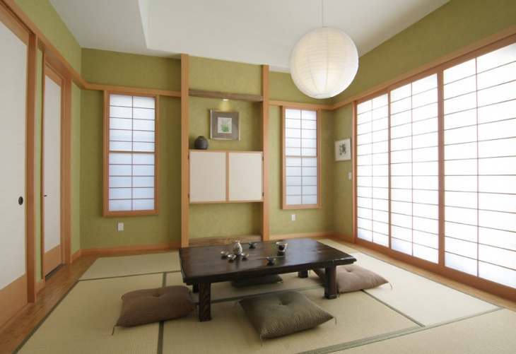Gentil Japanese Zen Living Room