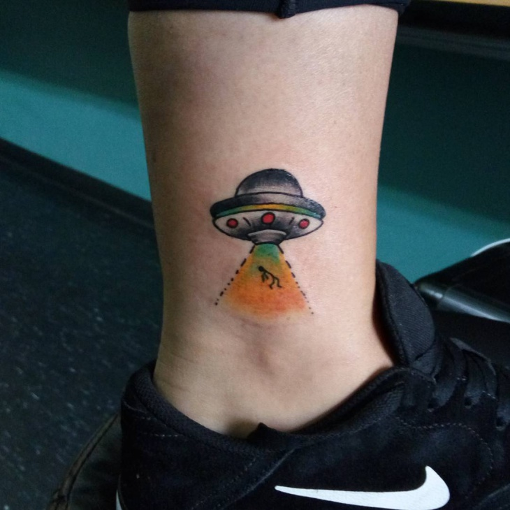 21 UFO Tattoo Designs Ideas Design Trends Premium