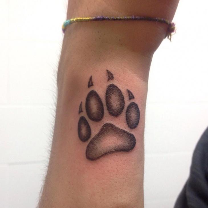Pawprint Foot Tattoo: 21+ Footprint Tattoo Designs, Ideas
