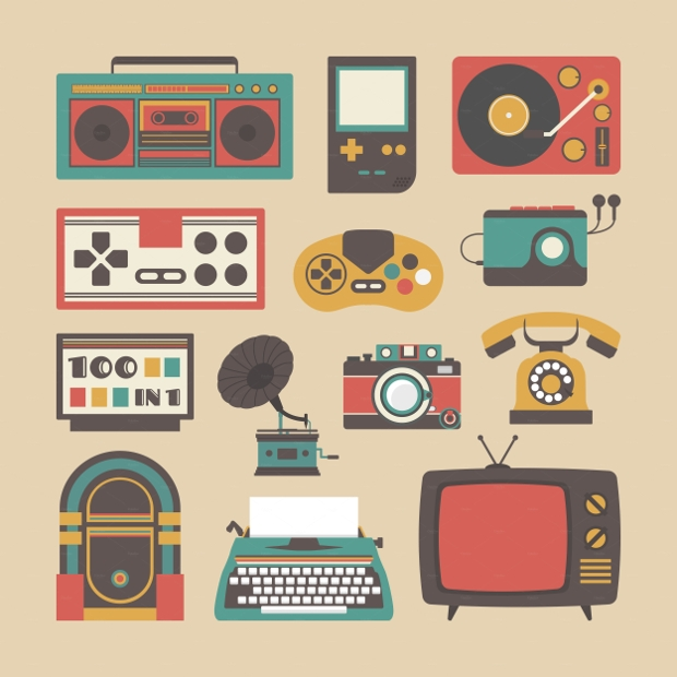 Old Gadget Icons