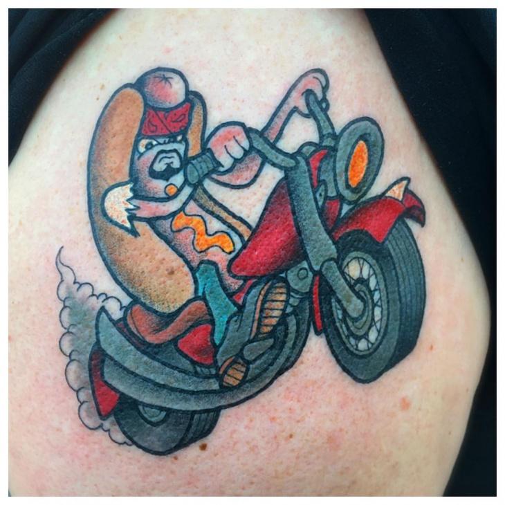 colorful tattoo design idea1