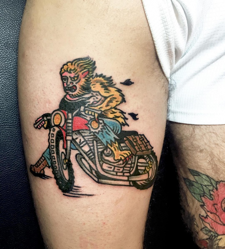 Tattoo design harley davidson joy studio design gallery for Traditional motorcycle tattoo