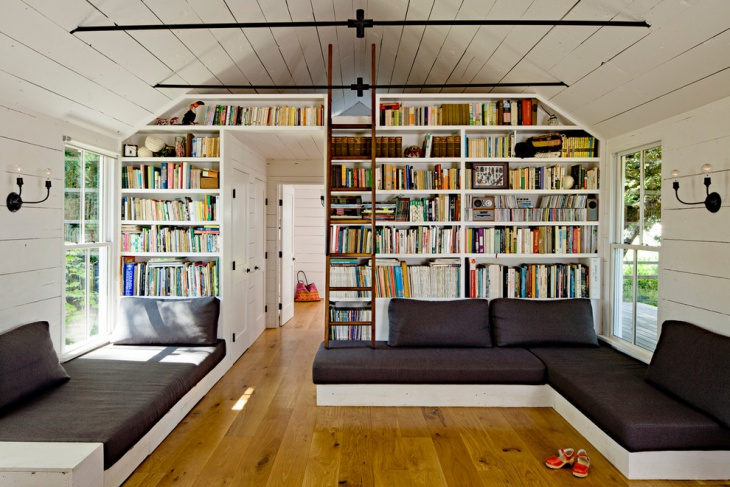 An Elegant Outlook of Home library