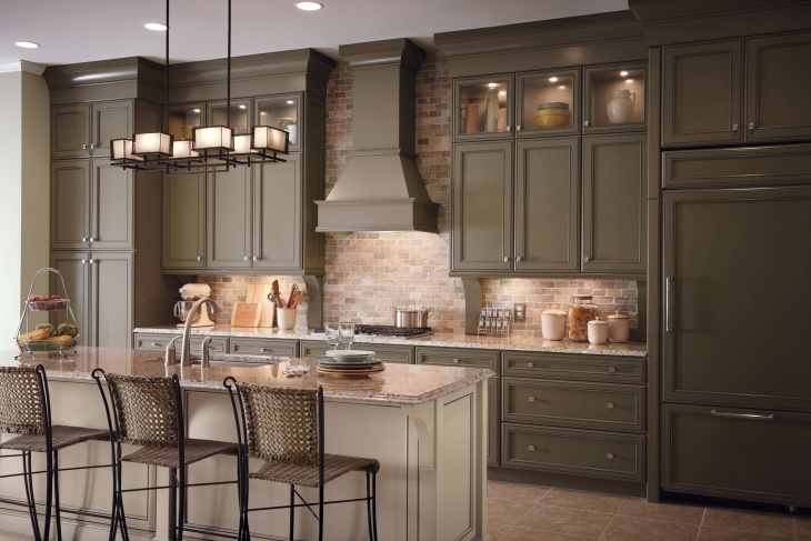 classic traditionl kitchen cabinets
