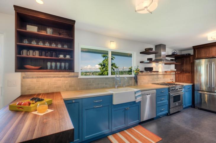 Contemporary Kitchen Interior Idea