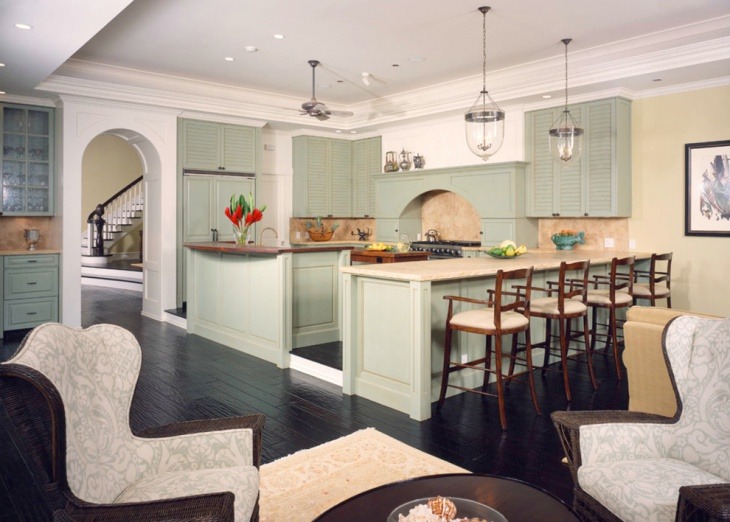 Lime Green Cabinets Design