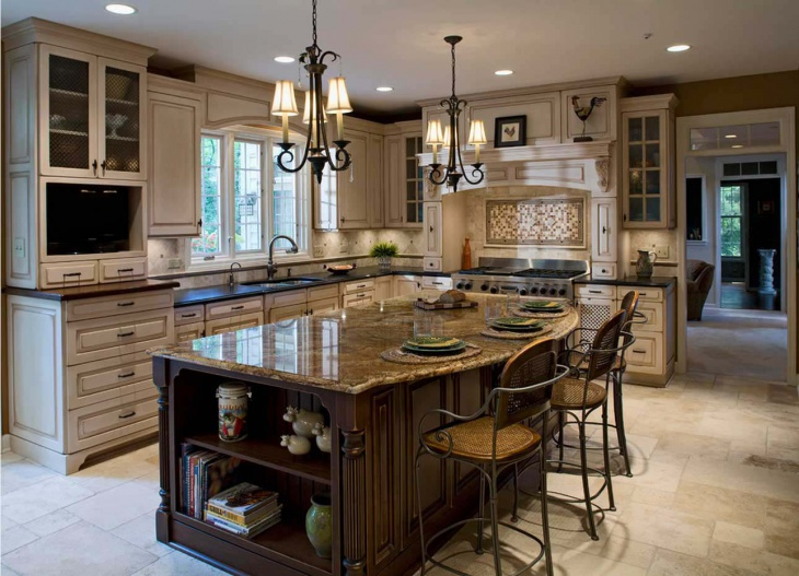 royal luxury vintage kitchen storage cabinets