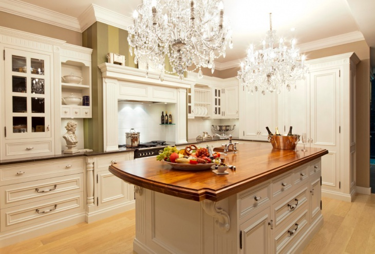 traditional kitchen countertop storage cabinets