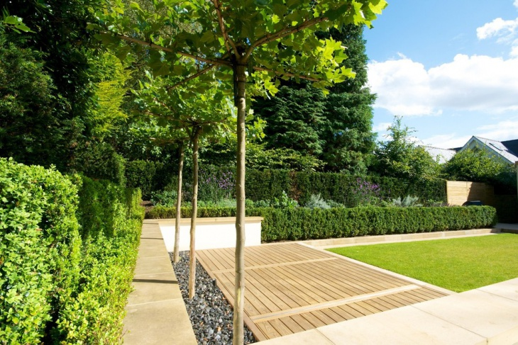 Contemporary Family Garden Landscape