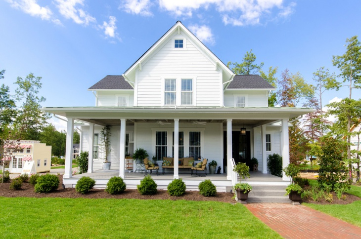 enclosing front porch roof