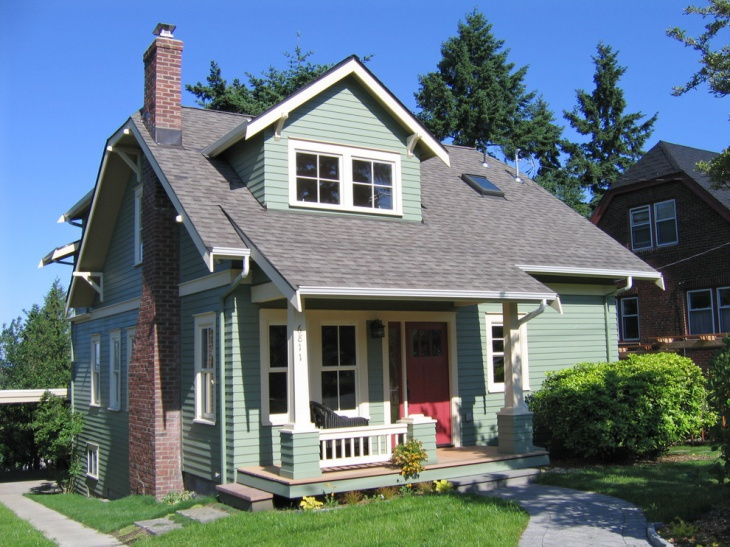craftsman style porch roof