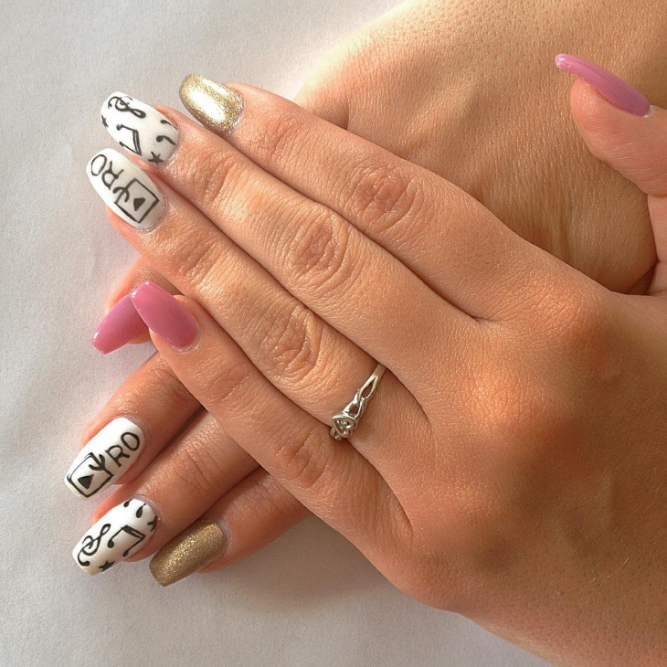 20 Music Note Nail Art Designs Ideas Design Trends