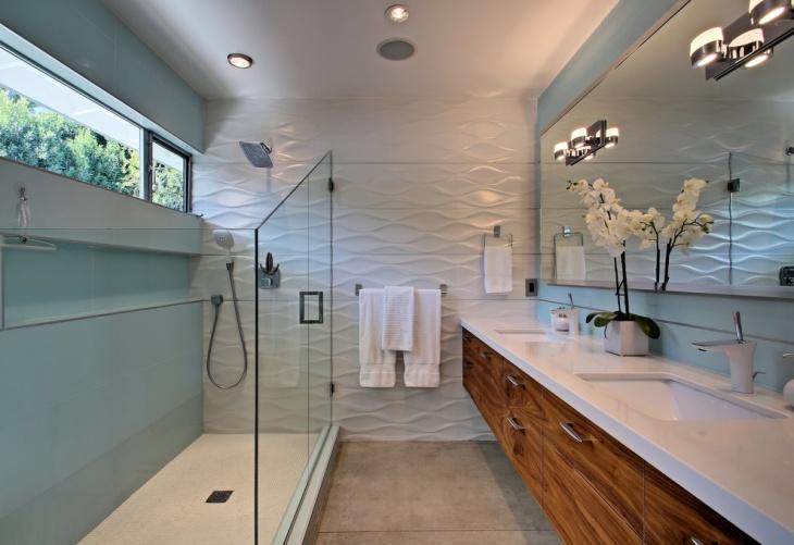 Spring 3D Midcentury Bathroom
